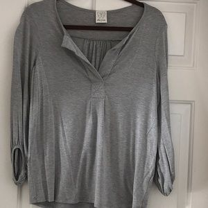 Ella Moss 3/4 length long sleeve top